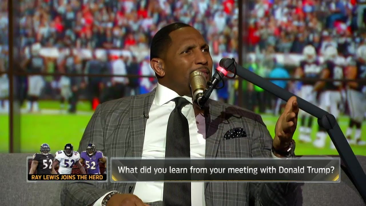 7cb932709 Ray Lewis takes you inside his visit with Donald Trump