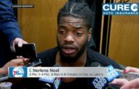 """Sixers' Nerlens Noel tells 76ers to """"figure this shit out"""" on his playing time"""