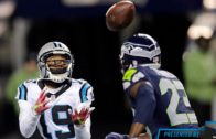 Ted Ginn Jr. speaks on Carolina Panthers not quitting in loss to Seattle