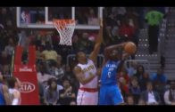 Victor Oladipo posterizes Dwight Howard