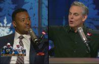 Willie McGinest talks Patriots culture & Tony Romo's next team