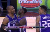 Arron Affalo hits game winning OT three pointer vs. Cleveland