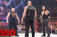 Brock Lesnar, Goldberg & The Undertaker square off on Monday Night Raw