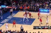 Carmelo Anthony air balls a point blank jump shot