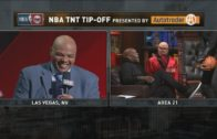 "Charles Barkley calls Kevin Garnett a ""borderline Hall of Famer"" on Inside The NBA"