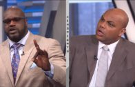 Charles Barkley & Shaq get into a heated argument over LeBron James