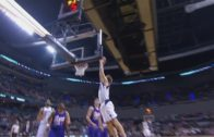 Dirk Nowitzki throws down a massive slam dunk vs. Phoenix