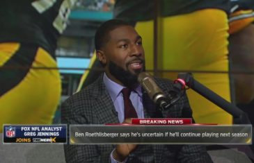 Greg Jennings reacts to Ben Roethlisberger's possible retirement