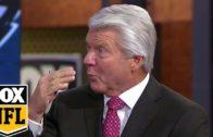 Jimmy Johnson reacts to Tony Romo's Week 17 performance