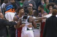 John Wall slaps Jae Crowder after he puts his finger in his face