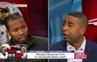 Josh Norman & Cris Carter react to Julian Edelman's comments on Pittsburgh