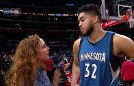 "Karl-Anthony Towns says to ""Put Some Respeck On His Name"""