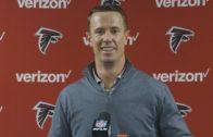 Matt Ryan speaks on the Falcons playoff win over Seattle