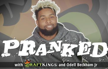 Odell Beckham Jr. pranks Giants fans with fake injury freakout