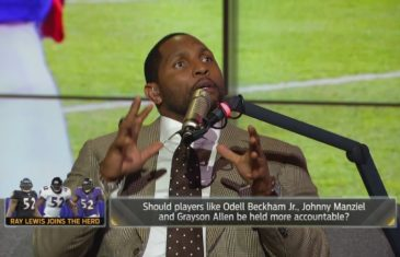 Ray Lewis reveals the biggest influences on his life