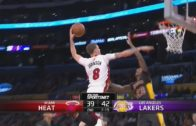 Tyler Johnson crams it on Lou Williams in Los Angeles
