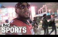 Atlanta rapper Young Jeezy left the Super Bowl during overtime