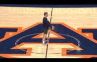Auburn student hits granny shot from halfcourt for free tuition