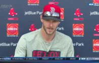 Chris Sale speaks on joining the Boston Red Sox at Spring Training