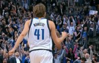 Dirk Nowitzki hits clutch jumper to force OT for the Mavs