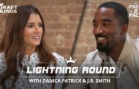 JR Smith tells Danica Patrick about the time his girlfriend went to his game with another man