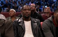 Kevin Durant hilariously announced as 'OKC's own' at 2017 NBA All-Star Saturday