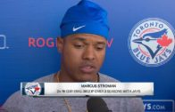 """Marcus Stroman says the Blue Jays have """"hands down"""" the best rotation in baseball"""