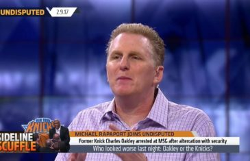 Michael Rapaport's reaction to Knicks treatment of Charles Oakley