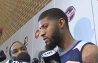 Paul George speaks on facing trade rumors at the NBA Trade Deadline
