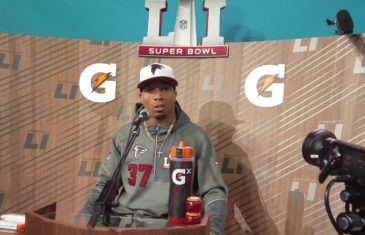 Ricardo Allen speaks on his respect for New England's secondary (FV Exclusive)