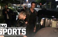 Scottie Pippen gives the paparazzi a death stare over asking where Future is with his wife