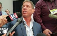 Troy Aikman talks Tony Romo's next team, Bears, Jets, Steelers, Patriots & more (FV Exclusive)