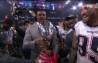 """Willie McGinest says """"kiss this motherfu*ker"""" to Patriots while carrying out Lombardi Trophy"""