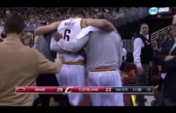 Andrew Bogut suffers fractured leg first minute into Cavs debut
