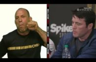 Chael Sonnen & Wanderlei Silva go at it during a Bellator 180 Press Conference