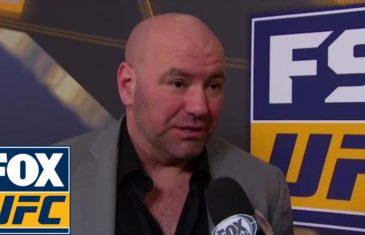 Dana White thought Stephen Thompson beat Tyron Woodley