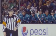 Hockey players extremely nice to each other after fighting minutes before