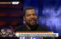 Ice Cube & Roger Mason announce Big 3 Basketball will be shown on FOX Sports