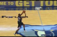 Jamal Crawford swishes a buzzer beater from half court