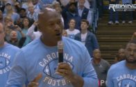 "Michael Jordan says ""the ceiling is the roof"" in his return to North Carolina"