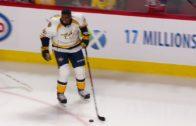 P.K. Subban returns to massive cheers in Montreal