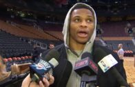 "Russell Westbrook responds to Steph Curry not picking him as MVP with ""Who is He?"""