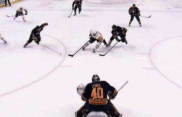 Sidney Crosby scores beautiful one-handed goal vs. Buffalo