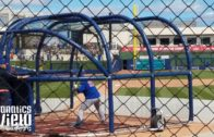 Tim Tebow batting practice with Mets at Spring Training (Part 1 – FV Exclusive)