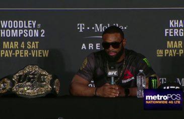 Tyron Woodley speaks on beating Stephen Thompson at UFC 209