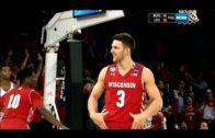 Wisconsin's Zak Showalter hit game tying 3-pointer & did Aaron Rodgers belt dance