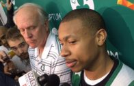 Boston Celtics star Isaiah Thomas says he'll never be the same after sister's death