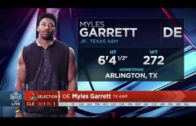 Browns select Myles Garrett No. 1 in the 2017 NFL Draft