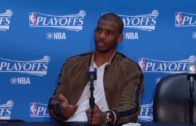 Chris Paul rips a reporter for asking him if the Clippers will force a Game 7