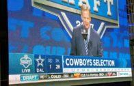 Dallas Cowboys fan reaction to Taco Charlton pick (FV Exclusive)